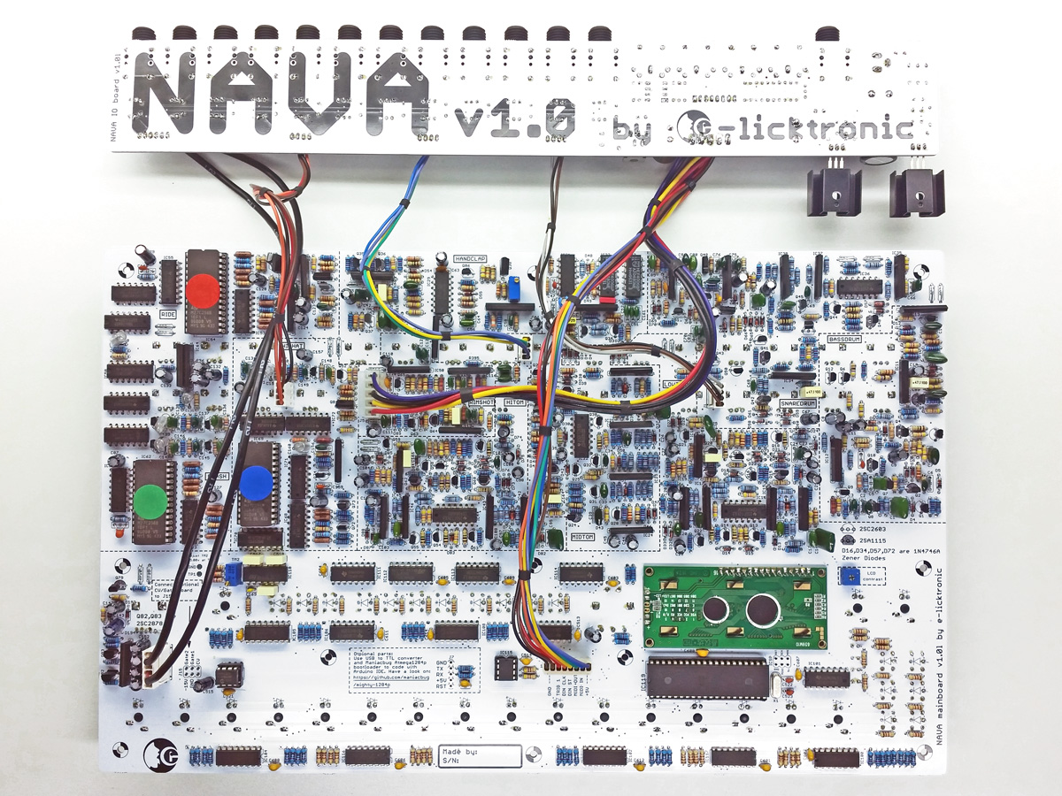 nava TR909 clone finished TOP